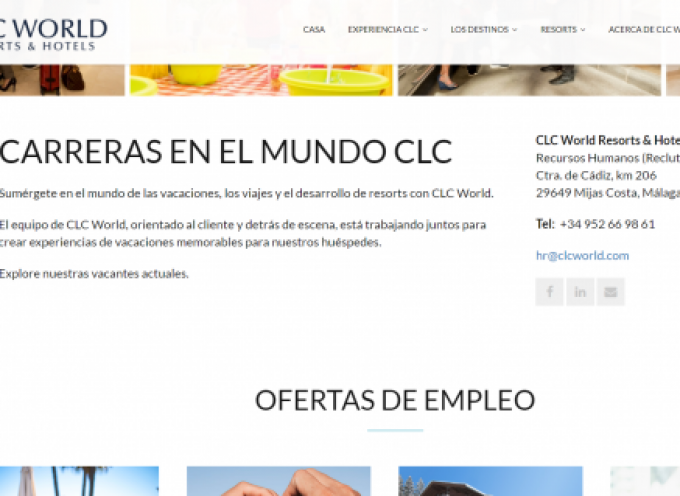 CLC World Resorts & Hotels creará 200 empleos en Mijas