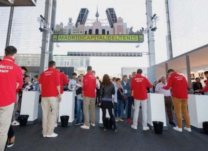 Contratación de 800 personas para el Mutua Madrid Open