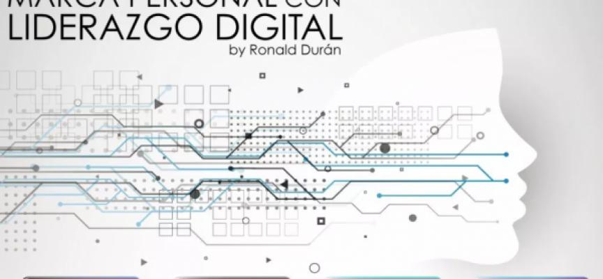 Marca Personal con Liderazgo Digital #infografia #infographic #marcapersonal