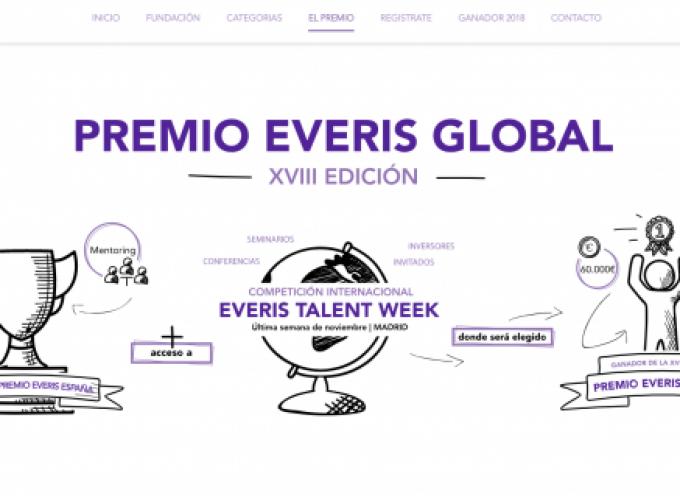 Everis premia con 90.000 euros al emprendedor más innovador de España y con 60.000 euros al mejor proyecto emprendedor del año