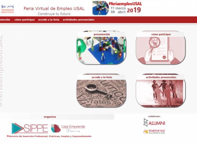 433 puestos de trabajo en la Feria Virtual de Empleo de la USAL