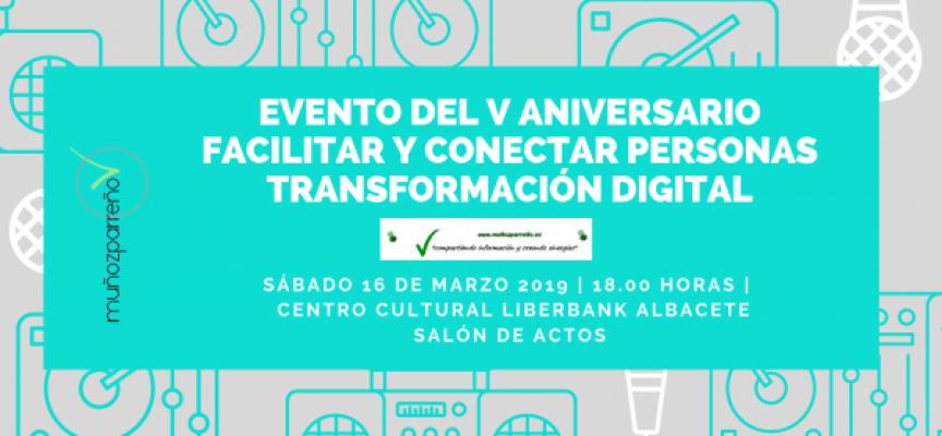 V ANIVERSARIO de la web / 16 de marzo 2019 – Ponencia y presentación del Evento | Gracias AFA Albacete.