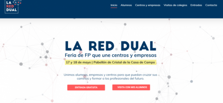 La 1ª Feria de Formación Profesional Dual llega a Madrid | APLAZADA A FEBRERO DE 2020