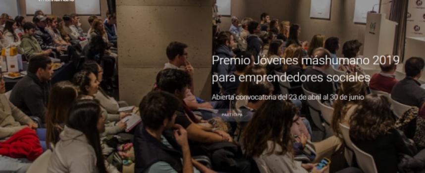 Premio Jóvenes máshumano 2019 | Plazo 30 de junio