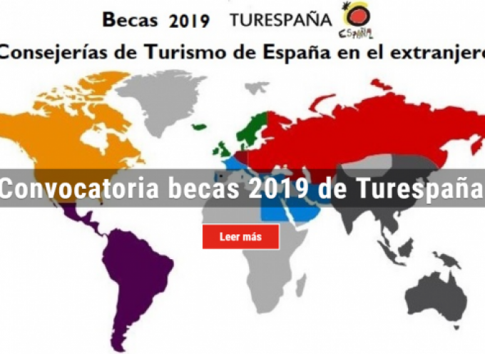 Turespaña convoca 36 becas para prácticas profesionales | Plazo 6 de junio