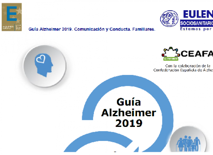 Guía Alzheimer 2019. Comunicación y Conducta. Familiares.