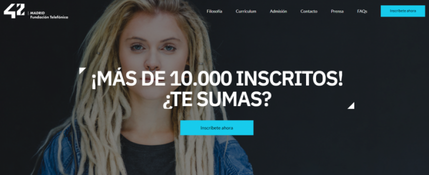 Primera edición del campus 42 Madrid para aprender a programar gratis