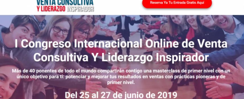 """""""I Congreso Internacional Online de Venta Consultiva y Liderazgo Inspirador"""""""