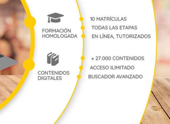 Formación homologada y 28.000 contenidos digitales educativos