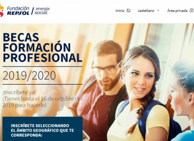 Nueva convocatoria de 100 Becas de FP de la Fundación Repsol | Plazo 16 octubre 2019