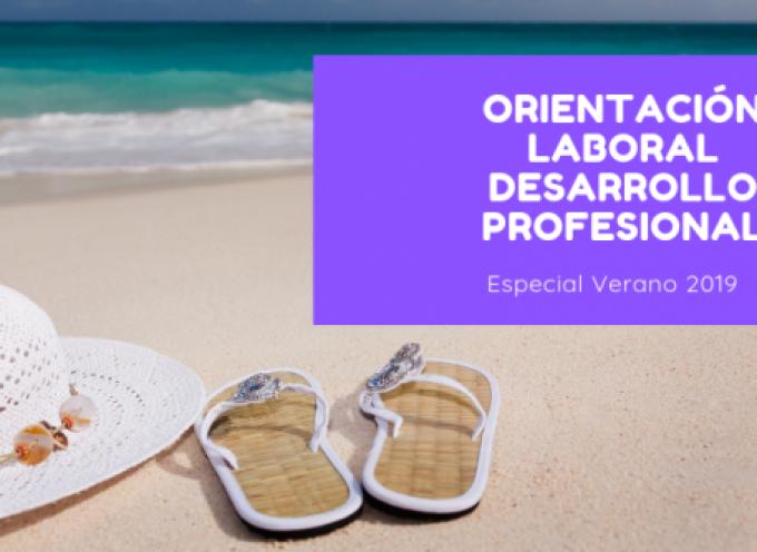 100 NOTICIAS SOBRE ORIENTACIÓN LABORAL Y DESARROLLO PROFESIONAL – Especial Verano 2019