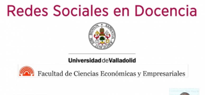 Redes Sociales en Docencia #socialmedia #educación. Gracias @alfredovela