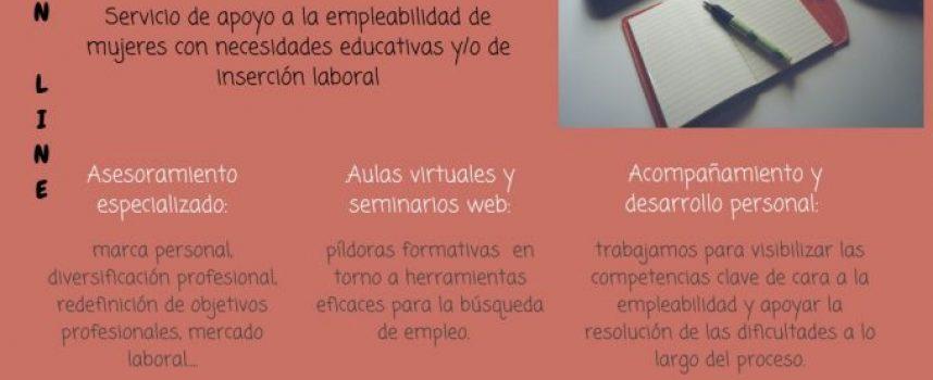 """""""Conectadas por el Empleo"""" – Servicio gratuito online de apoyo a la empleabilidad de mujeres"""