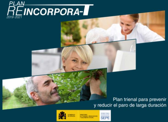 REINCORPORA-T: PLAN TRIENAL PARA PREVENIR Y REDUCIR EL PARO DE LARGA DURACIÓN