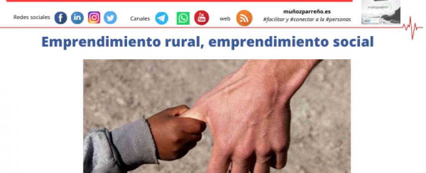 Emprendimiento rural, emprendimiento social