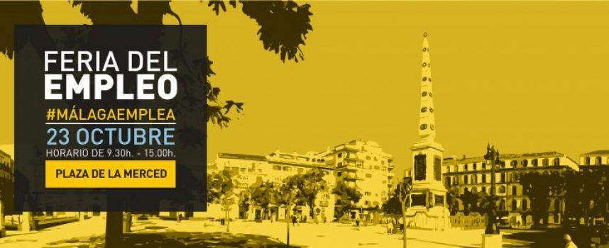 30 Empresas buscan personal en la Próxima Feria de Empleo de Málaga | 23 OCTUBRE 2019