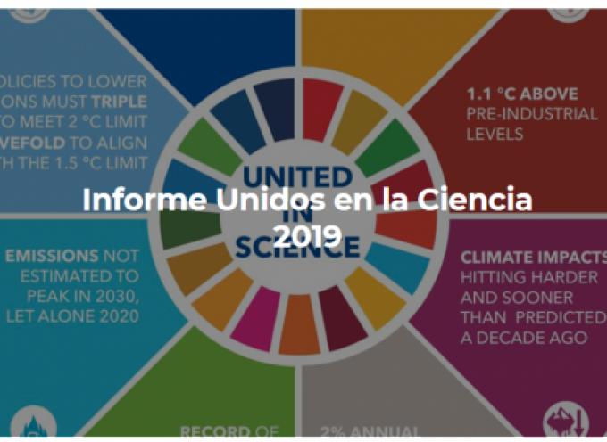 Informe Unidos en la Ciencia 2019