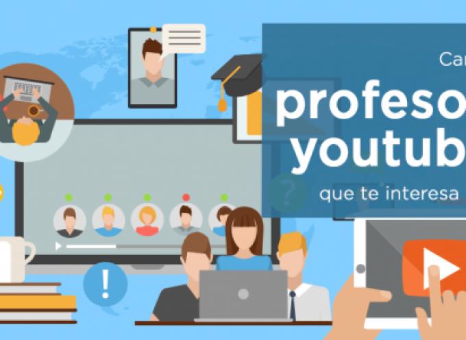 10 canales de profesores youtubers que te interesa conocer