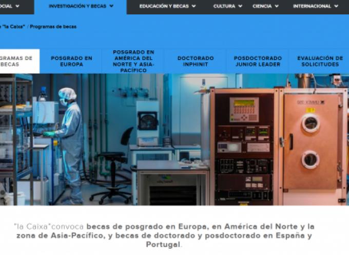 185 becas de posgrado y doctorado en Europa, América y Asia