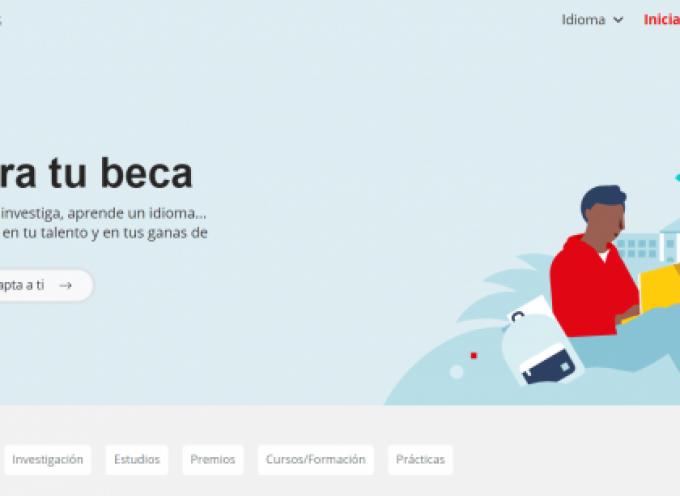 Más de 1500 Becas del Banco Santander para jóvenes profesionales