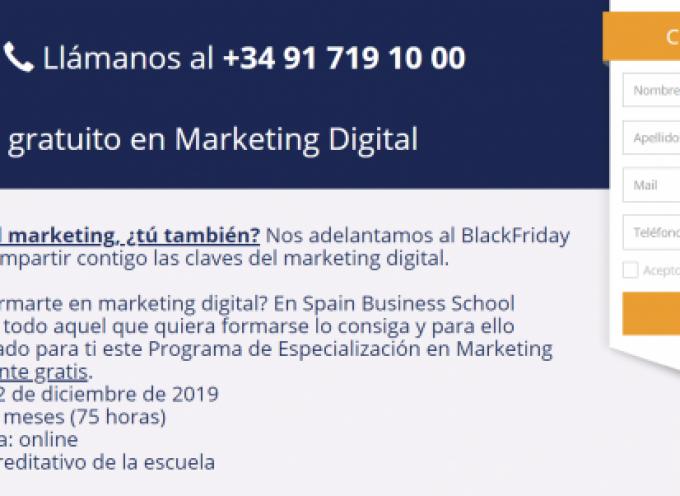 Programa Gratuito de Especialización en Marketing Digital