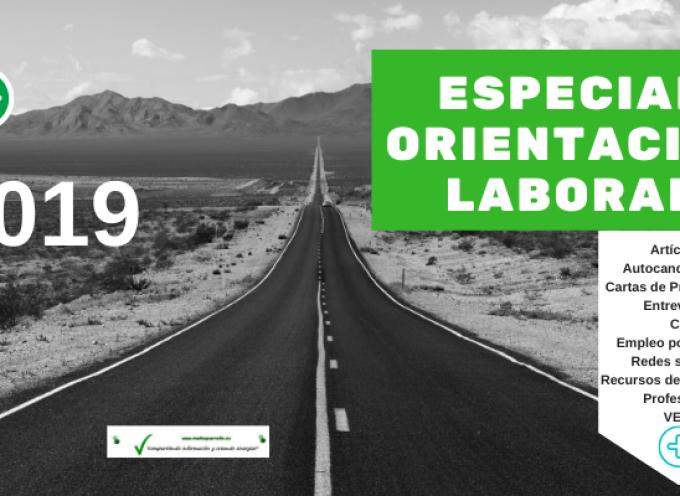 Especial Orientación Laboral y Profesional 2019 | (recursos de empleo, autocandidaturas, objetivos, #cv, cartas presentación, #empleorrss, etc)