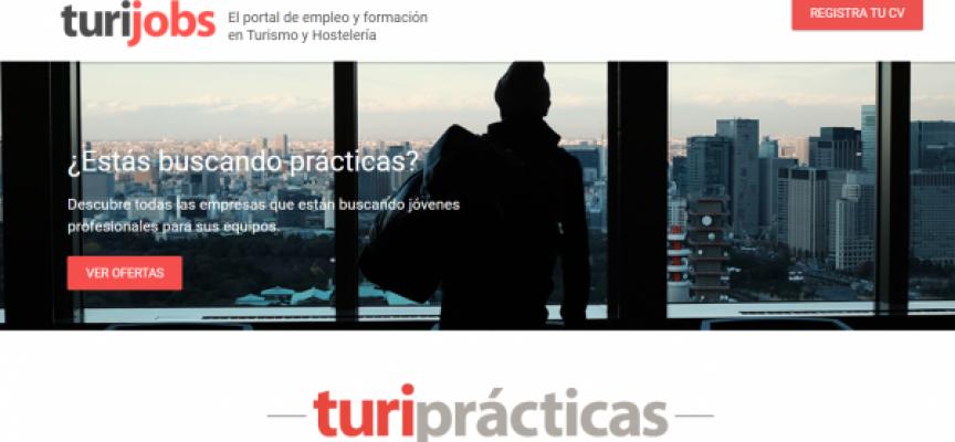 Nueva web Turiprácticas, para unir estudiantes que buscan prácticas con empresas