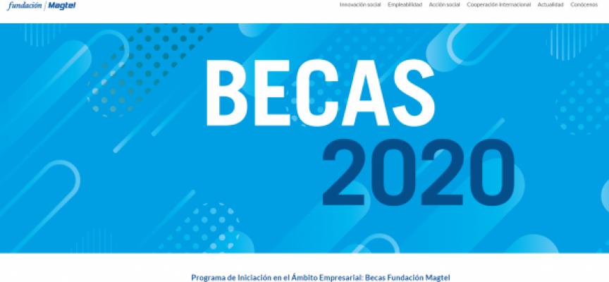Fundación Magtel ofrece 30 becas de prácticas profesionales | Plazo 15/02/2020
