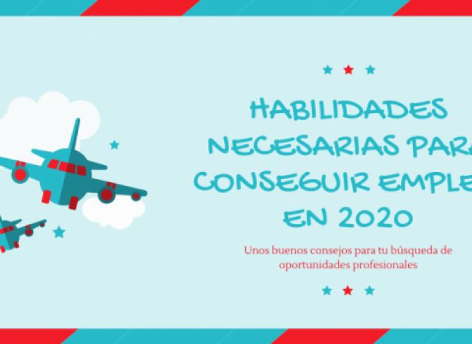 Habilidades necesarias para conseguir empleo en 2020