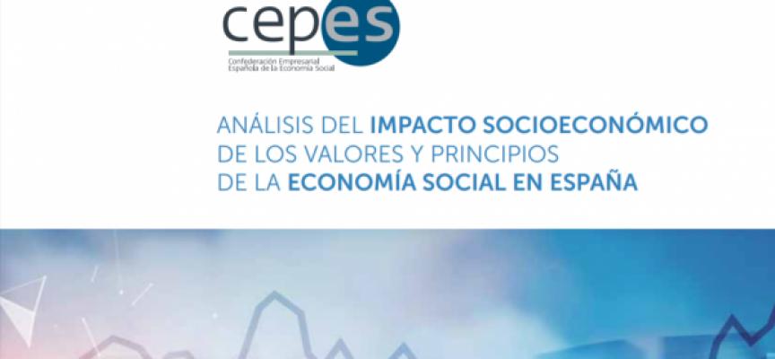 CEPES presenta el estudio de 'Análisis del Impacto socioeconómico de los valores y principios de la Economía Social en España'