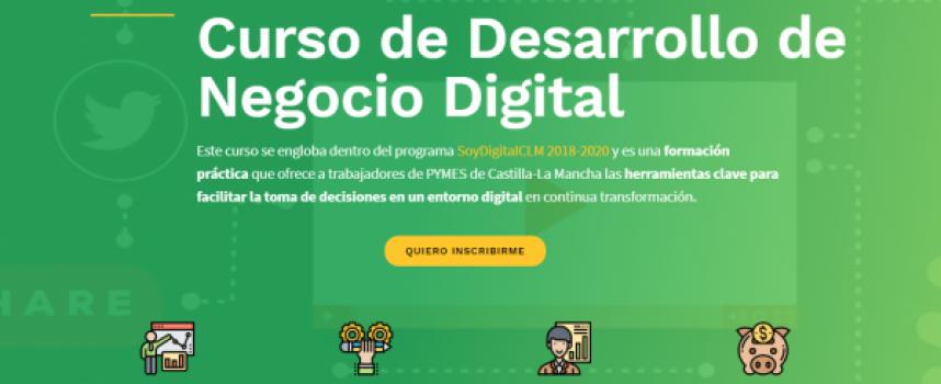 #CastillaLaMancha | Curso de Desarrollo de Negocio Digital