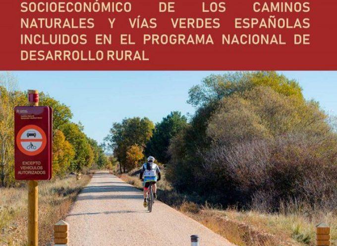 Publicado un estudio sobre el impacto de los Caminos Naturales y Vías Verdes