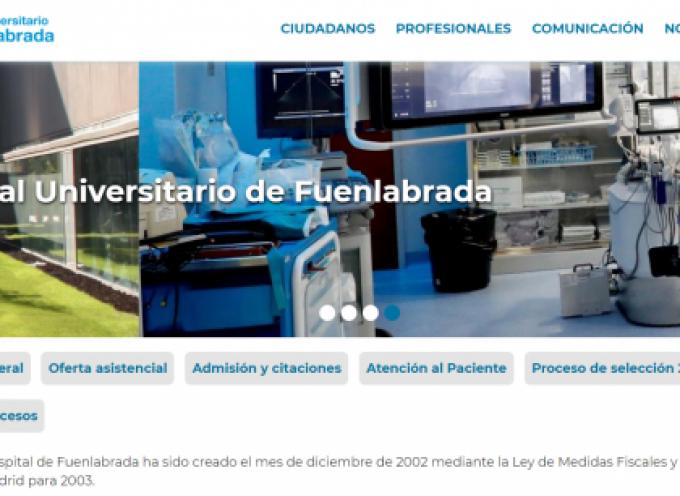Se convocan 410 plazas para trabajar en el Hospital de Fuenlabrada