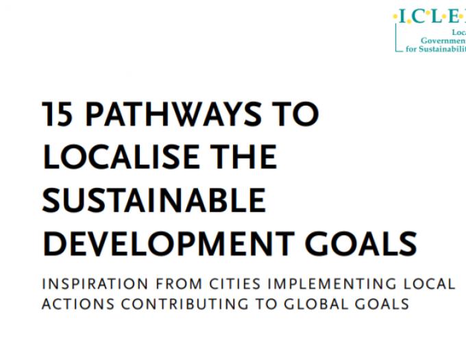 Nueva guía para implementar los Objetivos de Desarrollo Sostenible en el ámbito local
