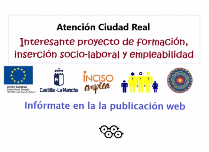 Proyecto INCISO EMPLEA- ALOIS en colaboración con AFA Ciudad Real y en Centro Alois Alzheimer