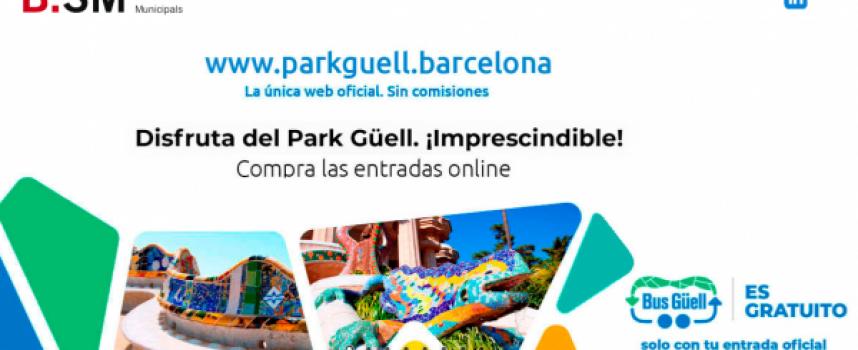Oferta de empleo para trabajar en el Parque Güell (Barcelona)