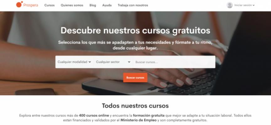 Más de 400 cursos online gratuitos validados por elMinisterio de Empleo