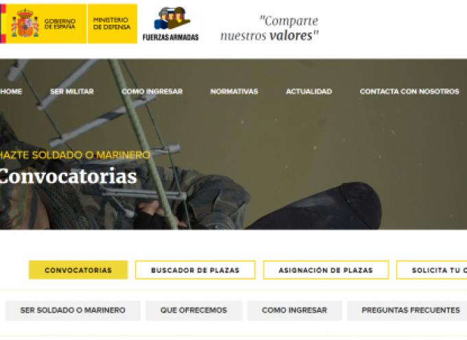 Convocadas 3.650 plazas para militar de tropa y marinería