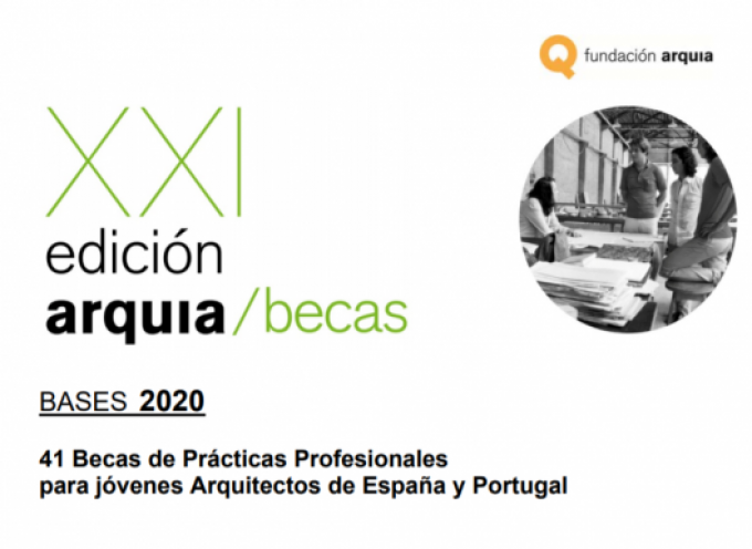 Becas ARQUIA | Plazo hasta el 30/04/2020