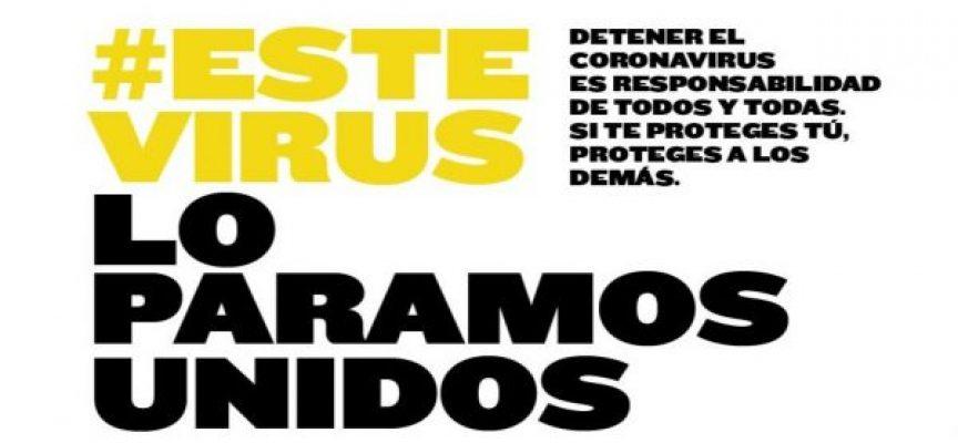 #ESTEVIRUSLOPARAMOSUNIDOS #YoMeQuedoEnCasa