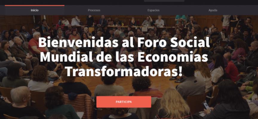 El Foro Social Mundial de las Economías Transformadoras ya tiene fecha. ¡Resérvalo en tu agenda!