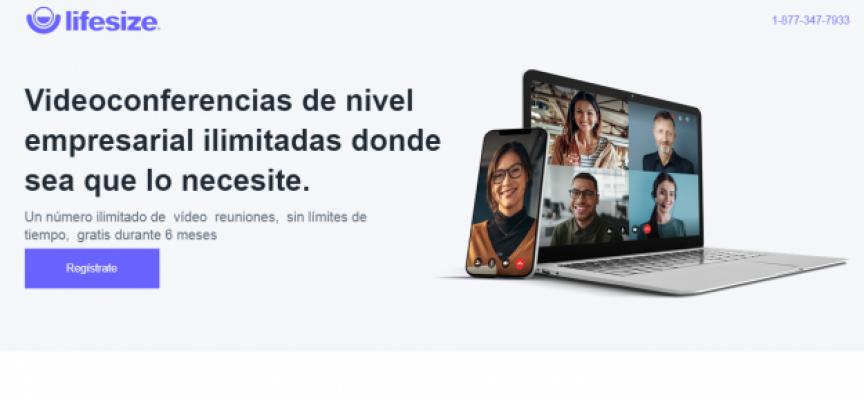 Lifesize ofrece videoconferencias gratuitas e ilimitadas para ayudar a las empresas estos días