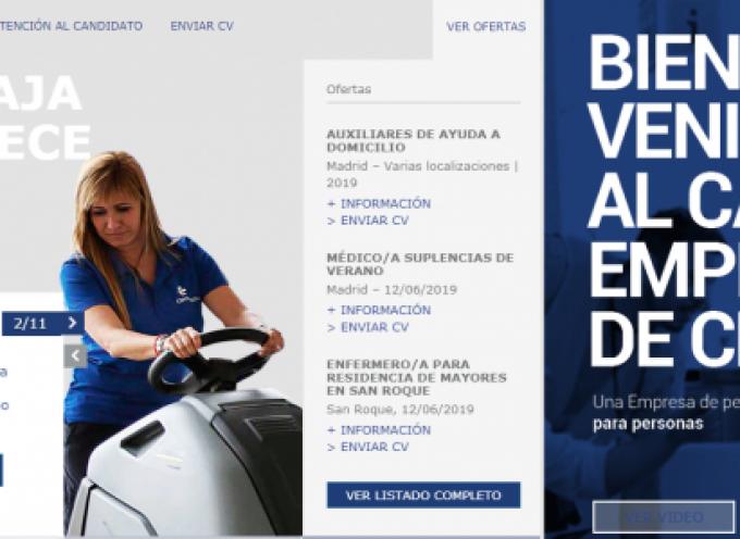 130 ofertas para Limpiadores/as, Auxiliares Enfermería, Ayuda Domicilio… en CLECE