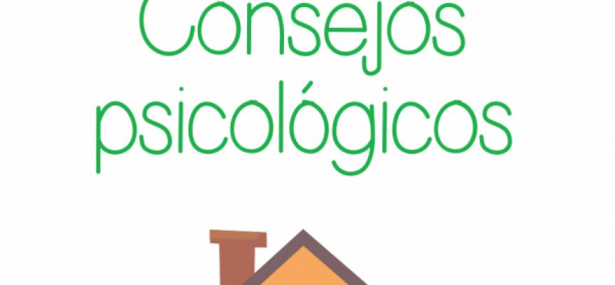 Consejos psicológicos para largos periodos en casa