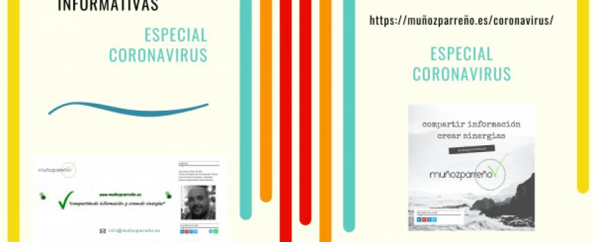 #Covid19 #YoMeQuedoEnCasa | Recopilatorio Especial de Publicaciones en muñozparreño.es | #EsteVirusLoParamosUnidos