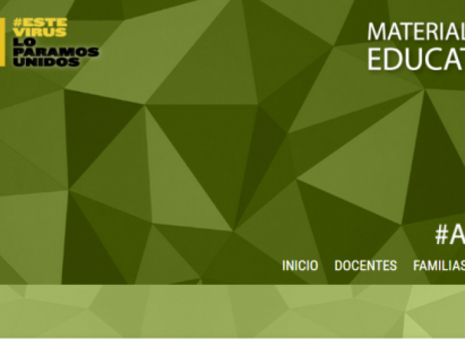 Educación crea una web con Materiales y Recursos Educativos Online Gratuitos