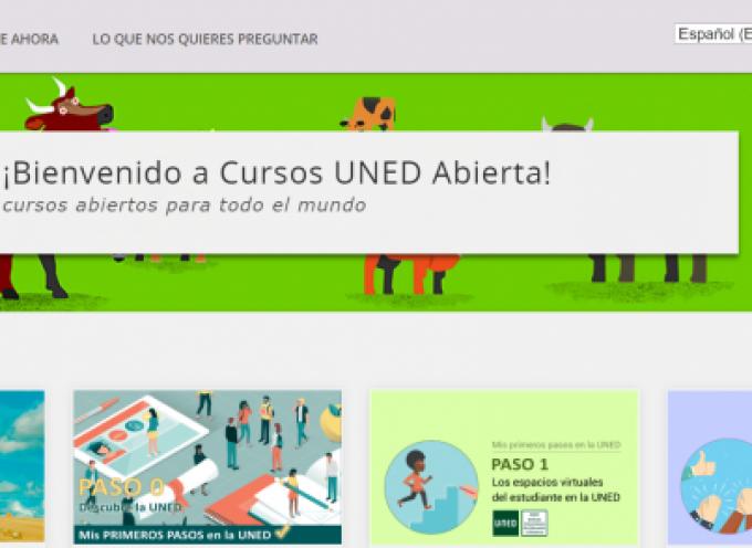 Formación Gratuita. Más de 80 cursos online de la UNED