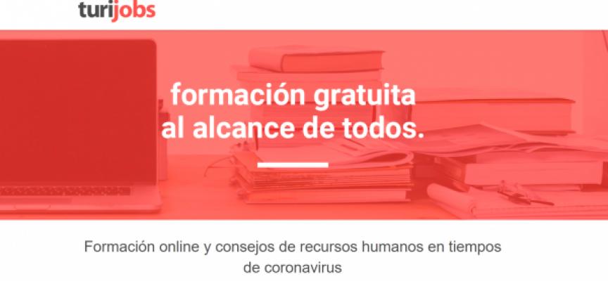 Turijobs lanza más de 150 cursos online gratuitos especializado en Turismo y Hostelería