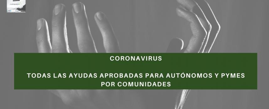 Ayudas autónomos por COVID-19: listado completo
