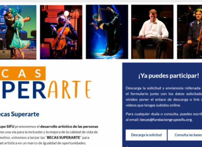 Fundación Grupo SIFU convoca una nueva edición de las Becas Superarte | Plazo 7 de junio